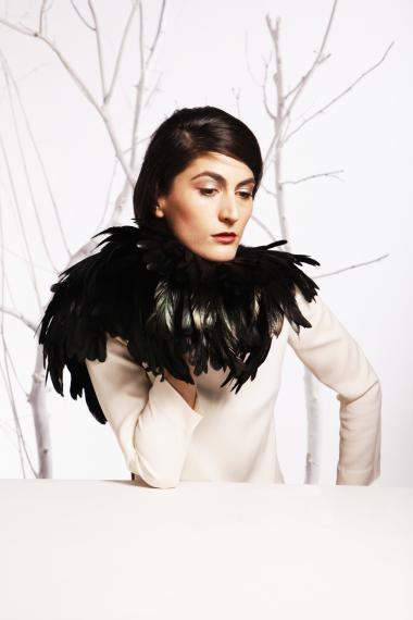Annemie Verbeke + AW 14 + Brussels fashion designer