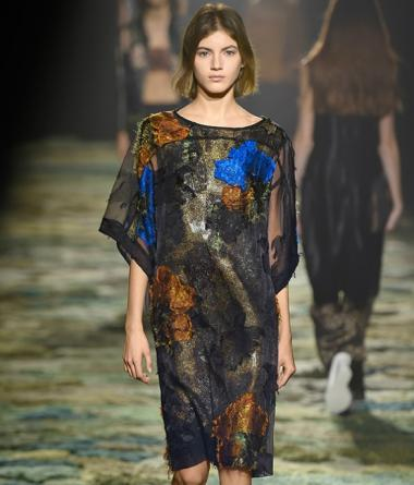 Dries Van Noten SS 15 + Fashion Belgium + Antwerp fashion designer