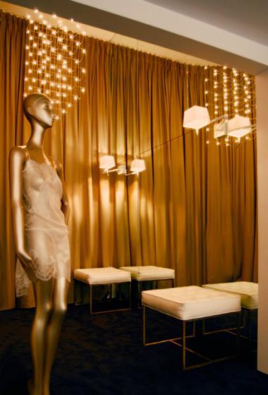 Carine Gilson lingerie couture + inside boutique